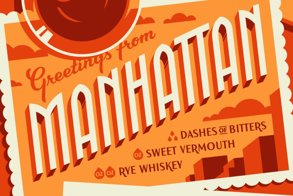 Manhattan Typography - Jonathan Bell