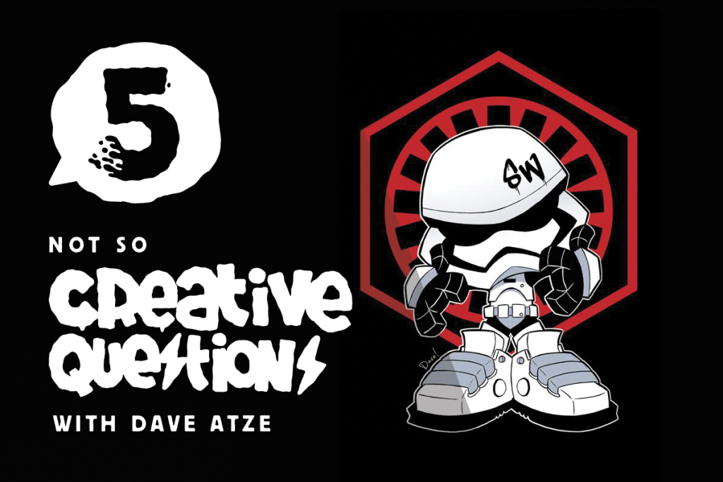 5 not so creative questions with dave atze