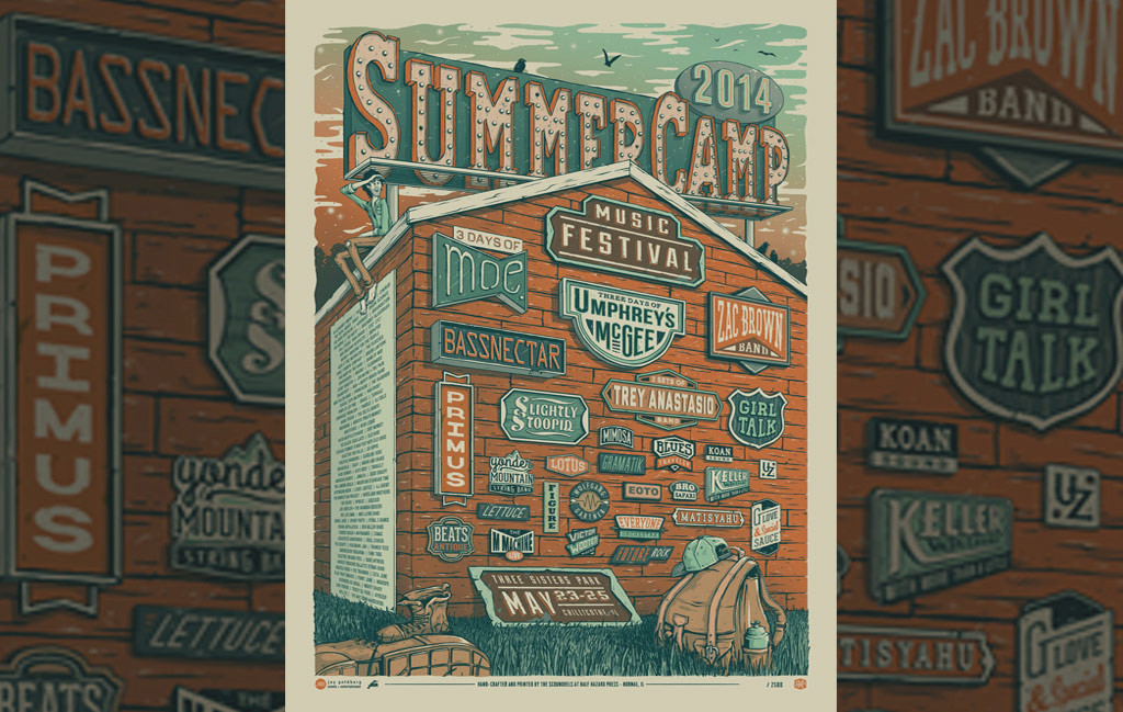 half-hazard-press-summercamp-poster