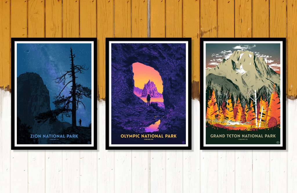 fifty nine parks debut posters