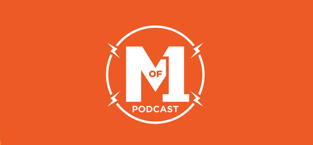 Best design podcasts Master of One Podcast logo